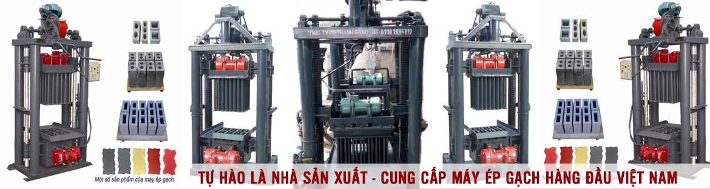 Máy ép gạch không nung Thanh Bằng