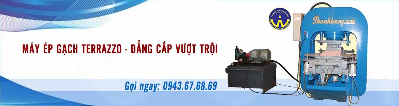 Máy ép gạch Terrazzo Thanh Bằng Nam Đinh