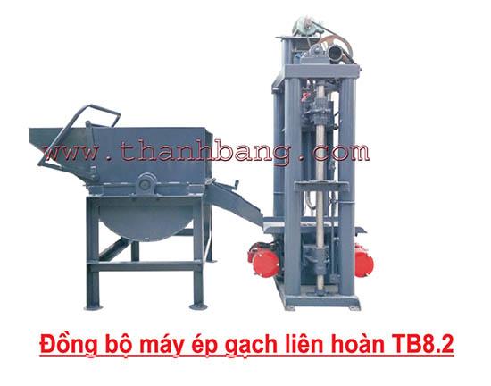 Máy ép gạch không nung TB 8.2