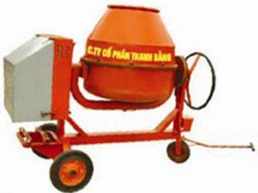 Máy trộn bê tông nghiêng 350 lít
