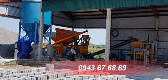 Máy ép gạch thủy lực Thanh Bằng