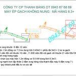Máy ép gạch bê tông TB8.3 nâng cao